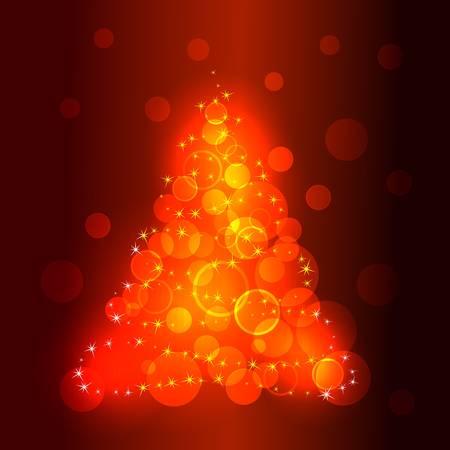 vector christmas tree Stock Vector - 8429227
