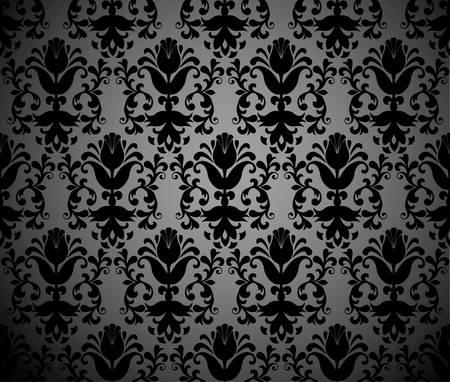 Seamless vintage background Vector