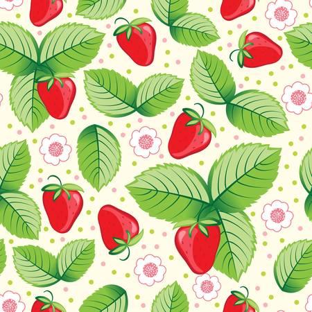 abstract fruit: Fondo transparente de fresa dulce. Ilustraci�n vectorial colorido Vectores