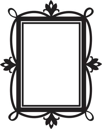 text box: Cute doodle frame for design