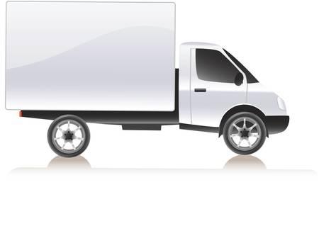 delivering: carga de camiones (20) .jpg Vectores