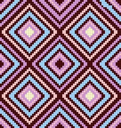 seamless abstract african ethnic ornament. Vector illustration Vector