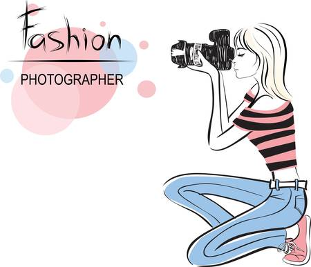 the photographer: beauty fashion photographer girl