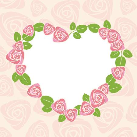 greeting card background: valentines day card