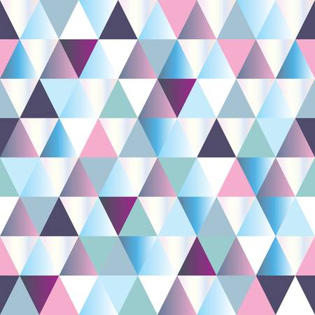 triangle: diamonds seamless triangle abstract pattern. Vector illustration Illustration