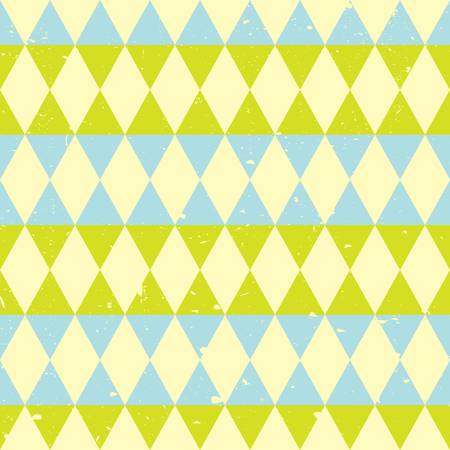 retro seamless triangle abstract pattern. Vector