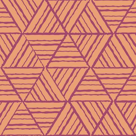 ethnic pattern: abstract ethnic seamless geometric pattern. Colorful illustration Illustration