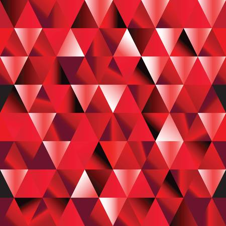 abstract ruby seamless triangle pattern. Illustration Vector