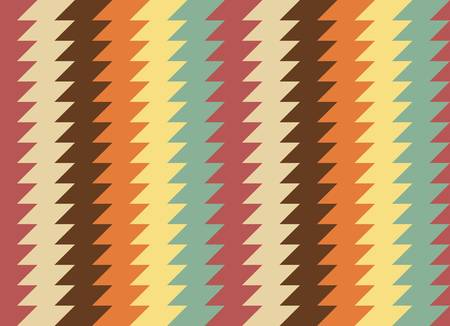 ethnic seamless abstract geometric pattern  Colorful  illustration Illustration