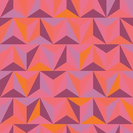 pyramidal: 3d abstract pyramidal pattern  Colorful illustration Illustration