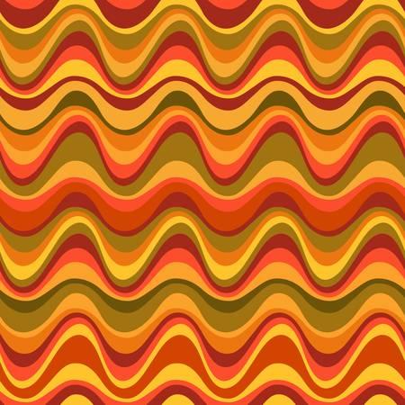 moderne: G�om�trique illustration seamless d�sert de dunes color�