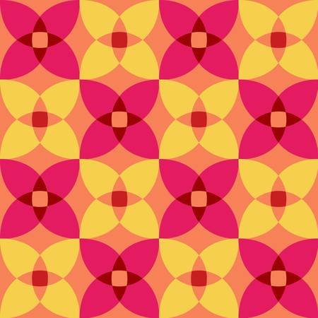seamless 3d geometric abstract pattern  Colorful illustration