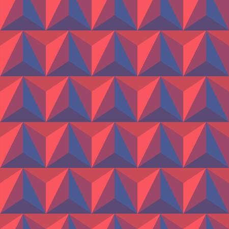 pyramidal: 3d abstract pyramidal pattern  Colorful vector illustration