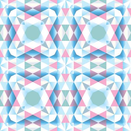 abstract color seamless geometric background Stock Vector - 12842912
