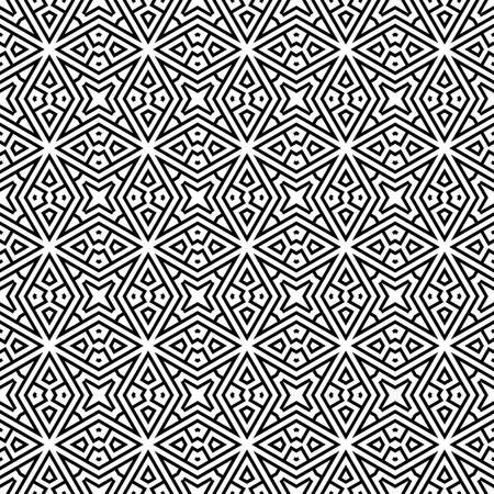 abstract etnische vector naadloze achtergrond Kleurrijke vector illustratie Stock Illustratie