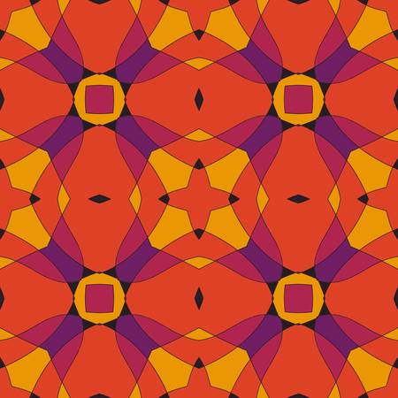 multi ethnic: abstract technology vector seamless background  Colorful vector illustration