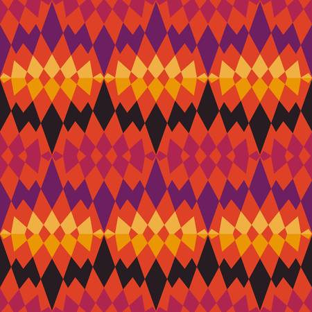 abstract ethnic seamless background  Colorful Vector