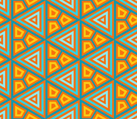 abstract ethnic vector seamless background Colorful vector illustration