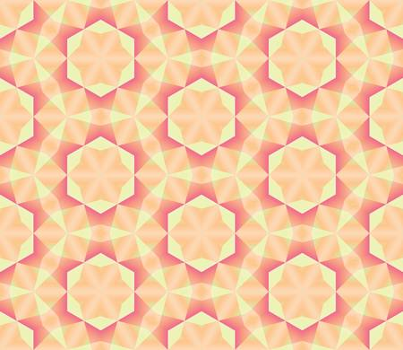 abstract ethnic vector seamless background  Colorful vector illustration Vector