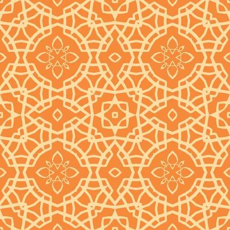 papel tapiz turquesa: abstracto del vector étnica de fondo sin fisuras ilustración vectorial