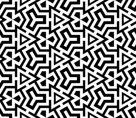 modern: abstract ethnic vector seamless background  Vector illustration Illustration