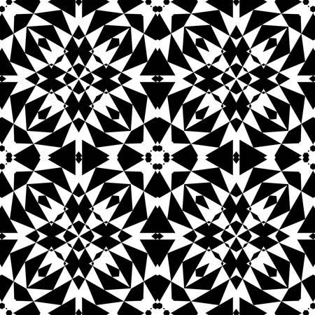 этнический: абстрактных этнических вектор бесшовных Векторные иллюстрации фона Иллюстрация