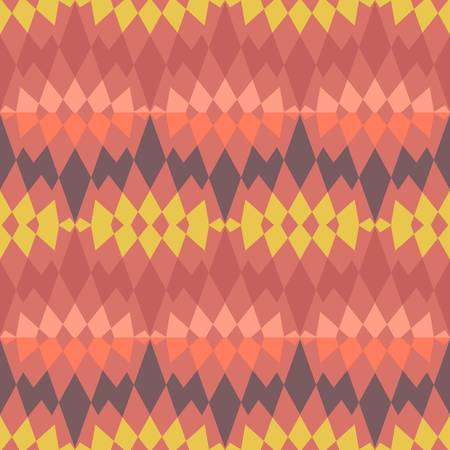 abstract ethnic seamless background Illustration