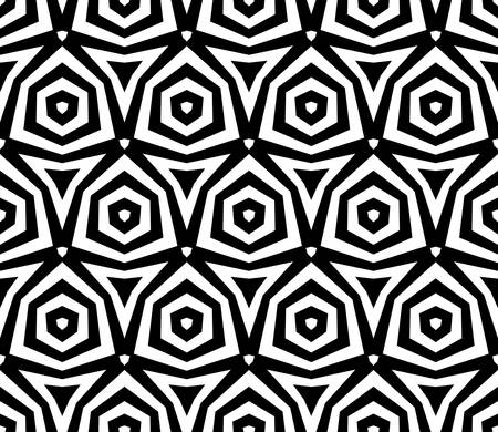 symmetric: abstract ethnic seamless background Illustration