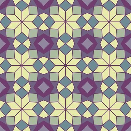 abstract ethnic vector seamless background  Vector illustration Stock Illustratie