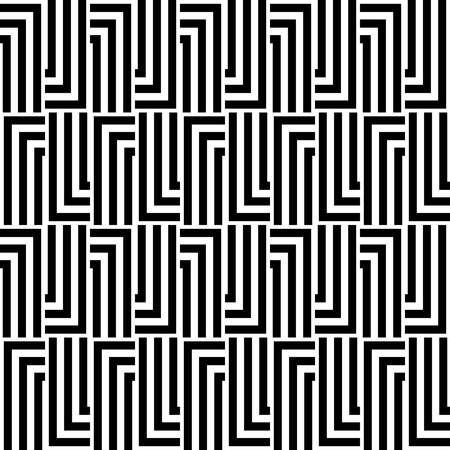 abstract ethnic seamless background  Vector illustration Illustration