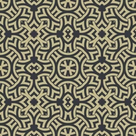 keltische muster: abstrakte ethnischen Vektor nahtlose Hintergrund Vektor-Illustration
