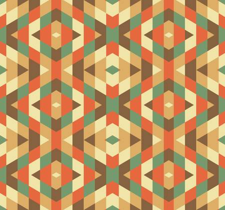 abstract ethnic vector seamless background  Vector illustration Vector