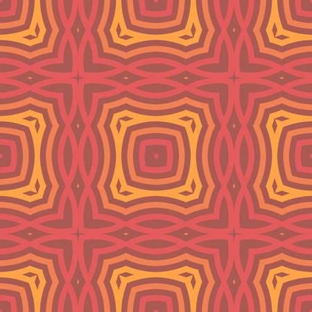 abstract ethnic vector seamless background   Stock Illustratie