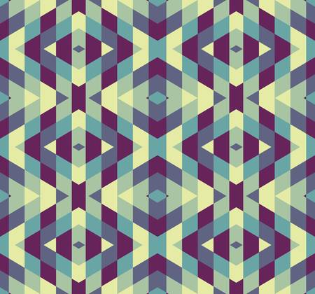 geometric pattern: abstract ethnic seamless background illustration Illustration