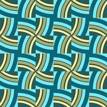 geometric design: abstract ethnic seamless background illustration Illustration