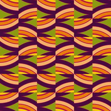 abstract art: abstract ethnic seamless background illustration Illustration
