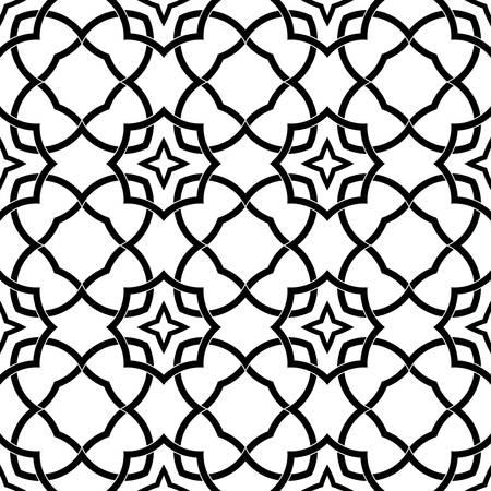 seamless tile: abstract ethnic seamless background illustration Illustration