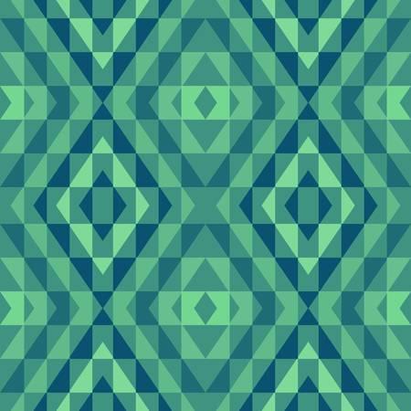 fondo geometrico: abstracto del vector �tnica de fondo sin fisuras ilustraci�n vectorial