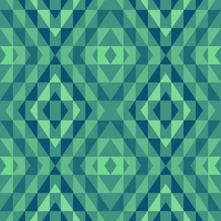 geometric background: abstracto del vector �tnica de fondo sin fisuras ilustraci�n vectorial