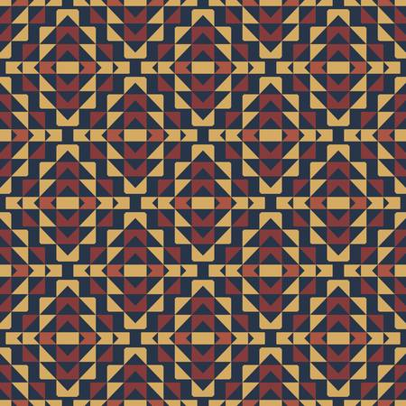 ethnic pattern: abstract ethnic seamless background illustration Illustration