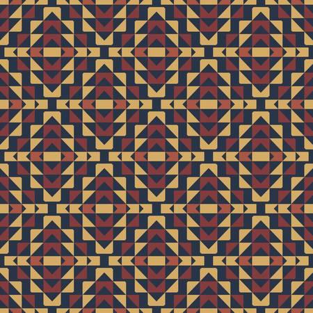 abstract ethnic seamless background illustration Stock Illustratie