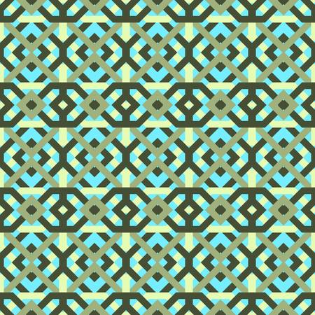repetition: abstract ethnic seamless background Illustration