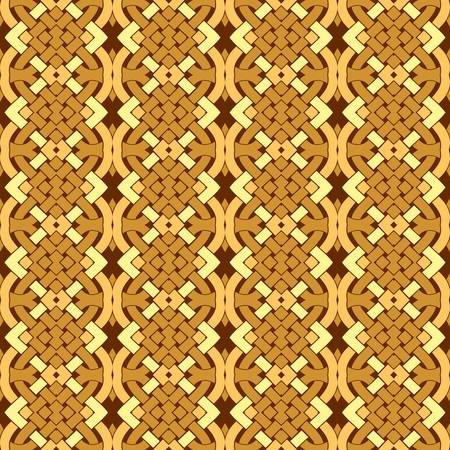symmetric: abstract pattern wallpaper seamless background  Vector illustration Illustration