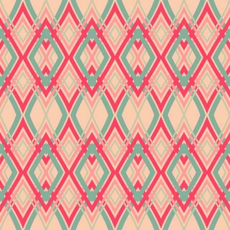abstract vintage geometrische achtergrond patroon naadloze achtergrond Vector illustratie