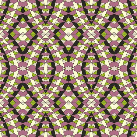 textiles: abstract pattern wallpaper seamless background  Vector illustration Illustration