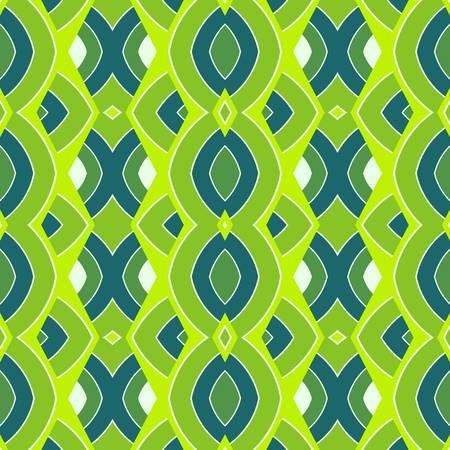 textiles: abstract pattern wallpaper seamless background  Vector illustration Illustration