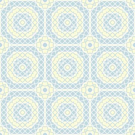 symmetrical design: abstract pattern wallpaper seamless background  Vector illustration Illustration