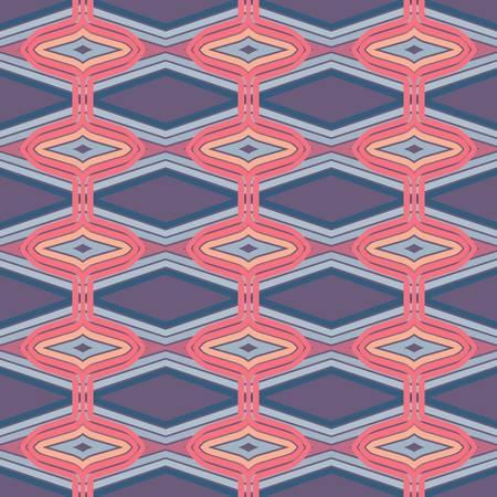 ethnic: abstract pattern wallpaper seamless background  Vector illustration Illustration