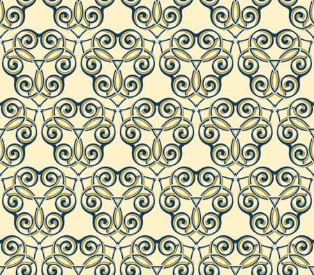 abstract pattern wallpaper seamless background Stock Vector - 14678311