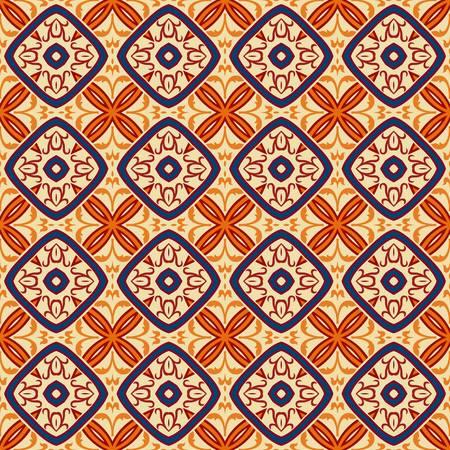 fashion design: abstract vintage pattern wallpaper seamless background   Illustration